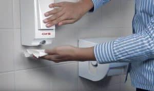Toilettensitzreiniger Paradise Seatcleaner weiss mit Hand Spenderbenutzung - Reinigung des Toilettensitzes - manuelle Sitzreinigung