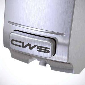 Toilettensitzreiniger Paradise Stainless Steel Seatcleaner Edelstahl Detailaufnahme