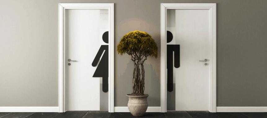 Zugang Toiletten Damen und Herren