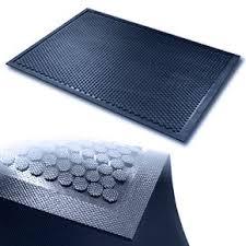 Industrie - Schmutzfangmatte in grau mit Noppen