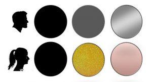 CleanUp-Grafik bezüglich Trendfarben Handy - unterschiedliche Farbvorlieben bei Damen und Herren