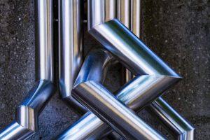 Rohrverbindungen und -winkel aus Nirosta-Stahl
