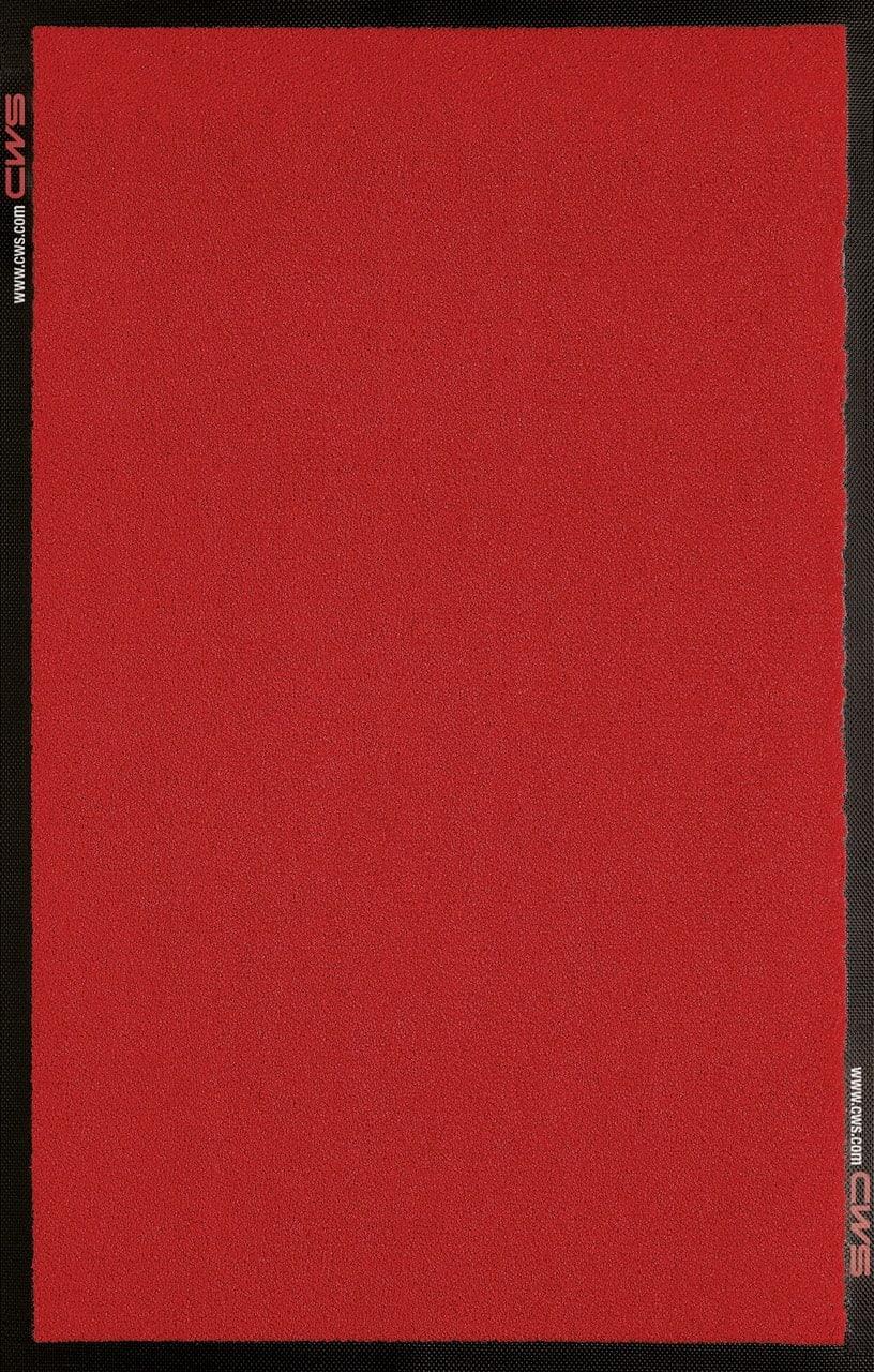 Schmutzfangmatte in rot